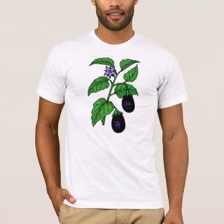Der T - Shirt der Auberginen-Männer