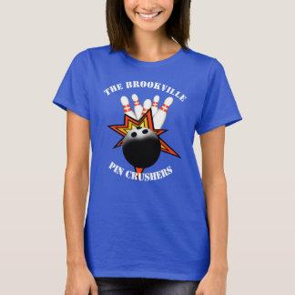 Der T - Shirt der Bowlings-Frauen