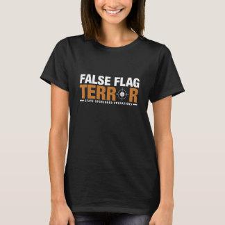 Der T - Shirt der falschen Flaggen-Terror-Frauen