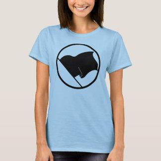 Der T - Shirt der Frauen der Anarchisten-schwarzen