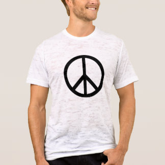 Der T - Shirt der Friedenssymbol-Männer