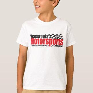 Der T - Shirt der Grassrootsmotorsports-Kinder