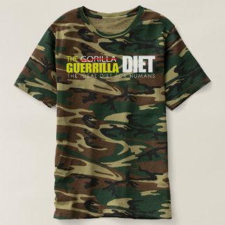 Der T - Shirt der Guerilla-Diät-Männer