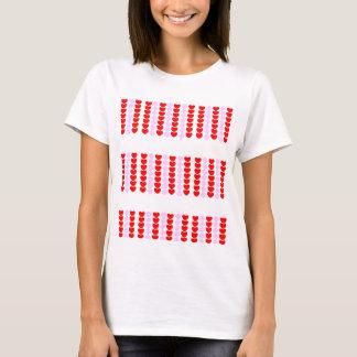 Der T - Shirt der Herz-Frauen