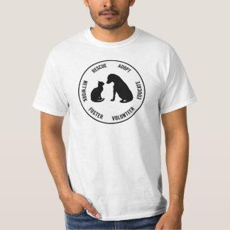 Der T - Shirt der Hilfstier-Männer