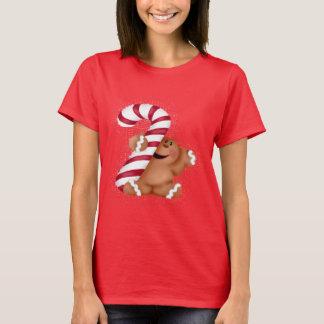 Der T - Shirt der Ingwer-Brot-grundlegenden Frauen