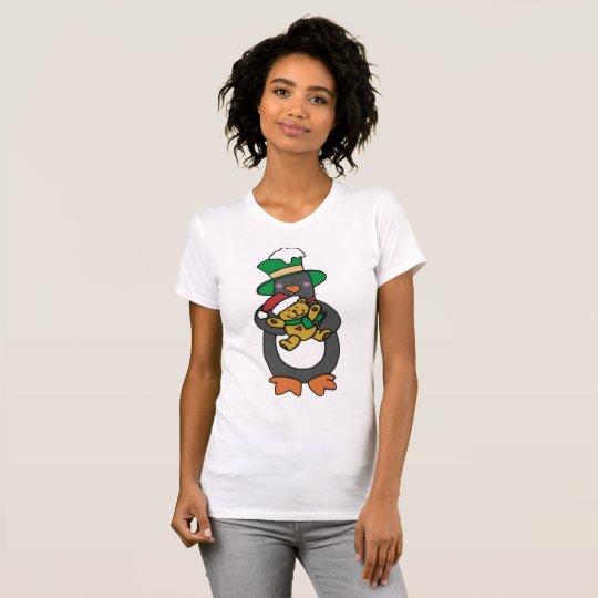 Der T - Shirt der irischen Penguin-Frauen