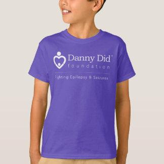 Der T - Shirt der Kinder - lila