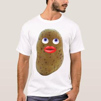 Der T - Shirt der lustigen Kartoffel-Figur-Männer