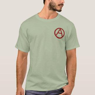 Der T - Shirt der Männer des Anarchiesymbols