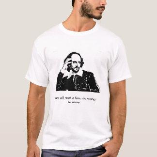 Der T - Shirt der Männer - William Shakespeare