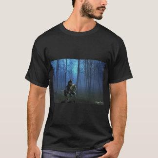 """Der T - Shirt """"der MidKnight Fahr"""" Männer"""