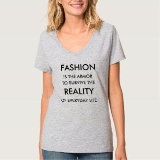 Der T - Shirt der Mode-Rüstungs-Frauen