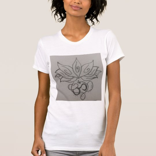 Der T - Shirt der Oom Symbol-Frauen