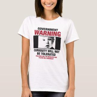 Der T - Shirt der Regierungs-warnenden Frauen