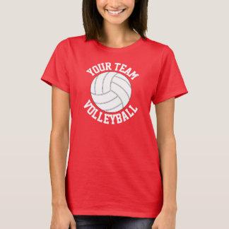 Der T - Shirt der roten und weißen