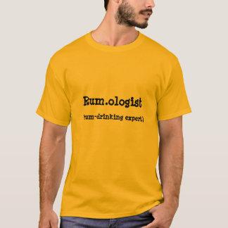Der T - Shirt der Rum.ologist Zitat-Männer