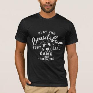 Der T - Shirt der schönes Spiel-amerikanischen