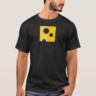 Der T - Shirt der Schweizer Käse-lustigen Männer