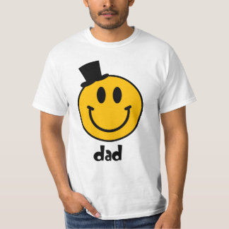 Der T - Shirt der smiley-Vati-Familien-Paar-Männer