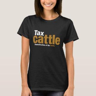Der T - Shirt der Steuer-Vieh-Frau