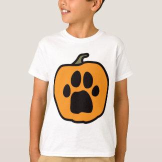 Der T - Shirt der Tatzen-Kürbis-Kinder