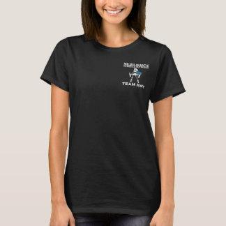 Der T - Shirt der Teamamy-Frauen