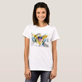 Der T - Shirt der United- States Virgin