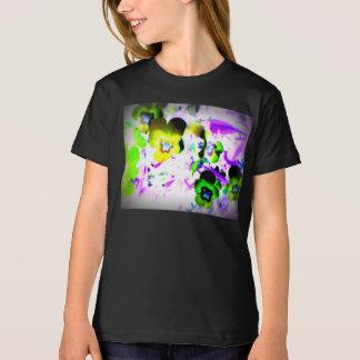 Der T - Shirt der Veilchen-Mädchen