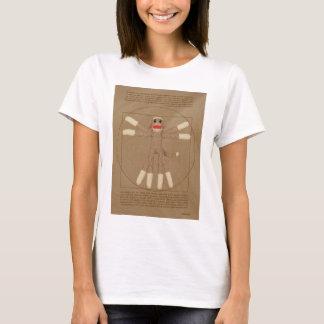 Der T - Shirt der Vitruvian Affe-Frauen