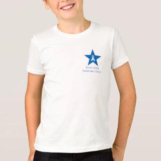 Der T - Shirt des Apraxia-Bewusstseins-Kindes