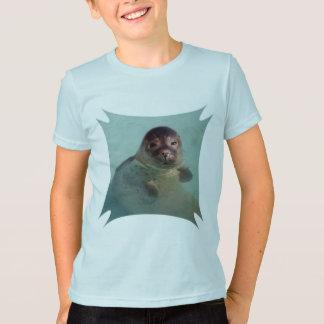 Der T - Shirt des Hafen-Siegel-Kindes