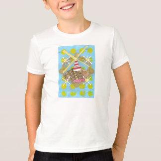 Der T - Shirt des Hamster-Riesenrad-Kindes