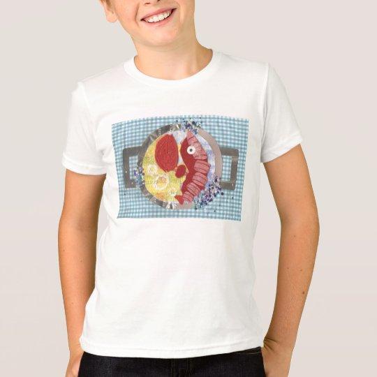 Der T - Shirt des Hummer-Strand-Kindes