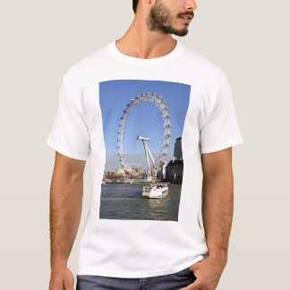 Der T - Shirt des London-Augen-Riesenrad-Mannes