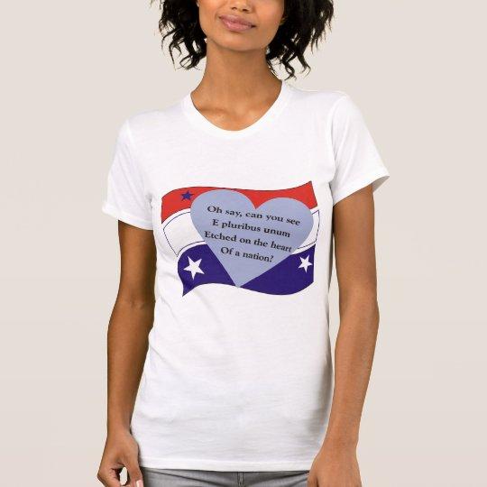 Der T - Shirt Frauen E Pluribus Unum
