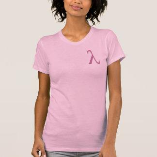 Der T - Shirt Frauen Lambdas (kleines Logo)