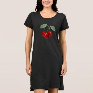 Der T - Shirt-Kleid der Kirschfrauen Kleid