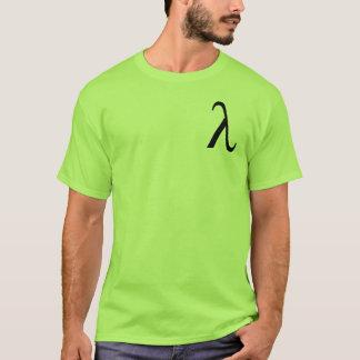 Der T - Shirt Männer Lambdas (kleines Logo)