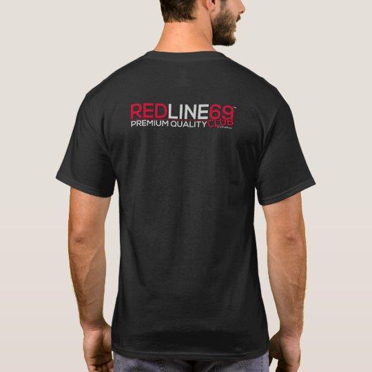 der T - Shirt redline69club Männer (grundlegend)