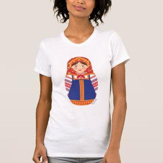 Der T - Shirt russischer Mädchen Matryoshka Frauen