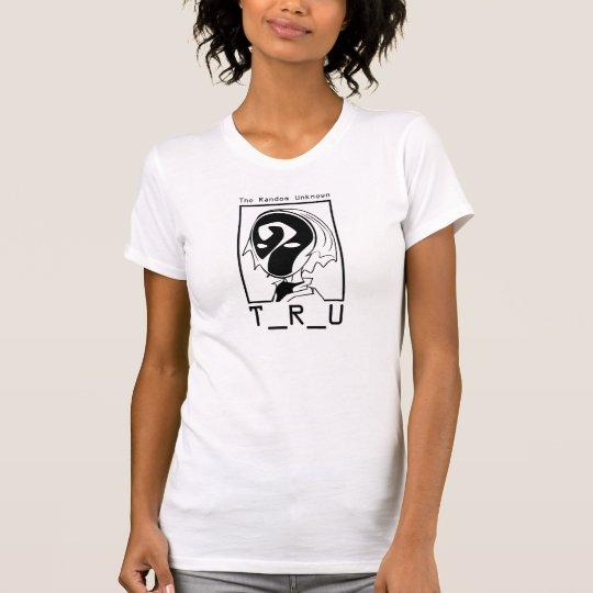 Der T - Shirt-Weiß der TRU Masken-Frauen T-Shirt