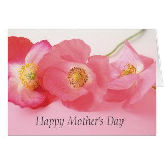 Der Tag der Mohnblumen-in Folge Mutter Karte