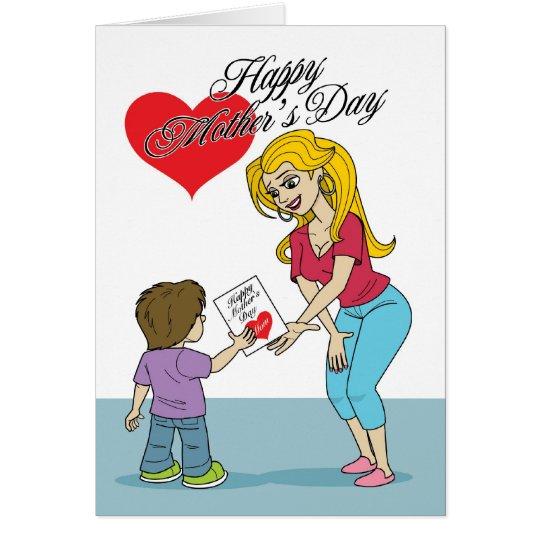 Der Tag der Mutter #156 Grußkarte