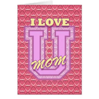 Der Tag der Mutter: Liebe Sie Mamma Karte