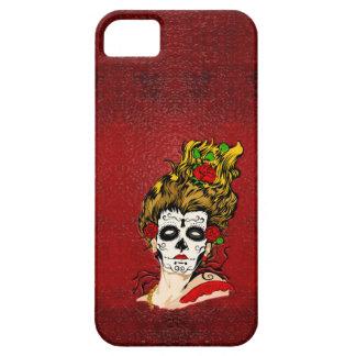 Der Tag des toten Schädel-Gesichts-Telefon-Kastens iPhone 5 Schutzhüllen