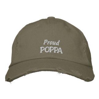 Der Tag ODER der Geburtstag der stolzen Pappa-Väte Bestickte Mützen