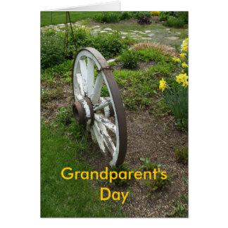 Der Tag-September des Rad-Großvaters+8. Karte