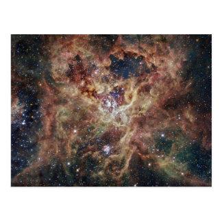 Der tarantula-Nebelfleck Postkarte
