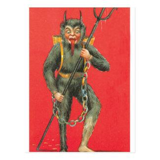 Der Teufel Postkarte